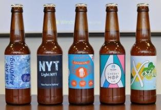 Glidden Apprentice finalist bottles