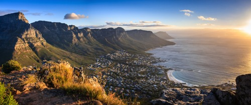 Cape Town Sunset Panorama