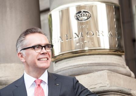 The Balmoral - General Manager - Richard Cooke - Exterior sign - Landscape