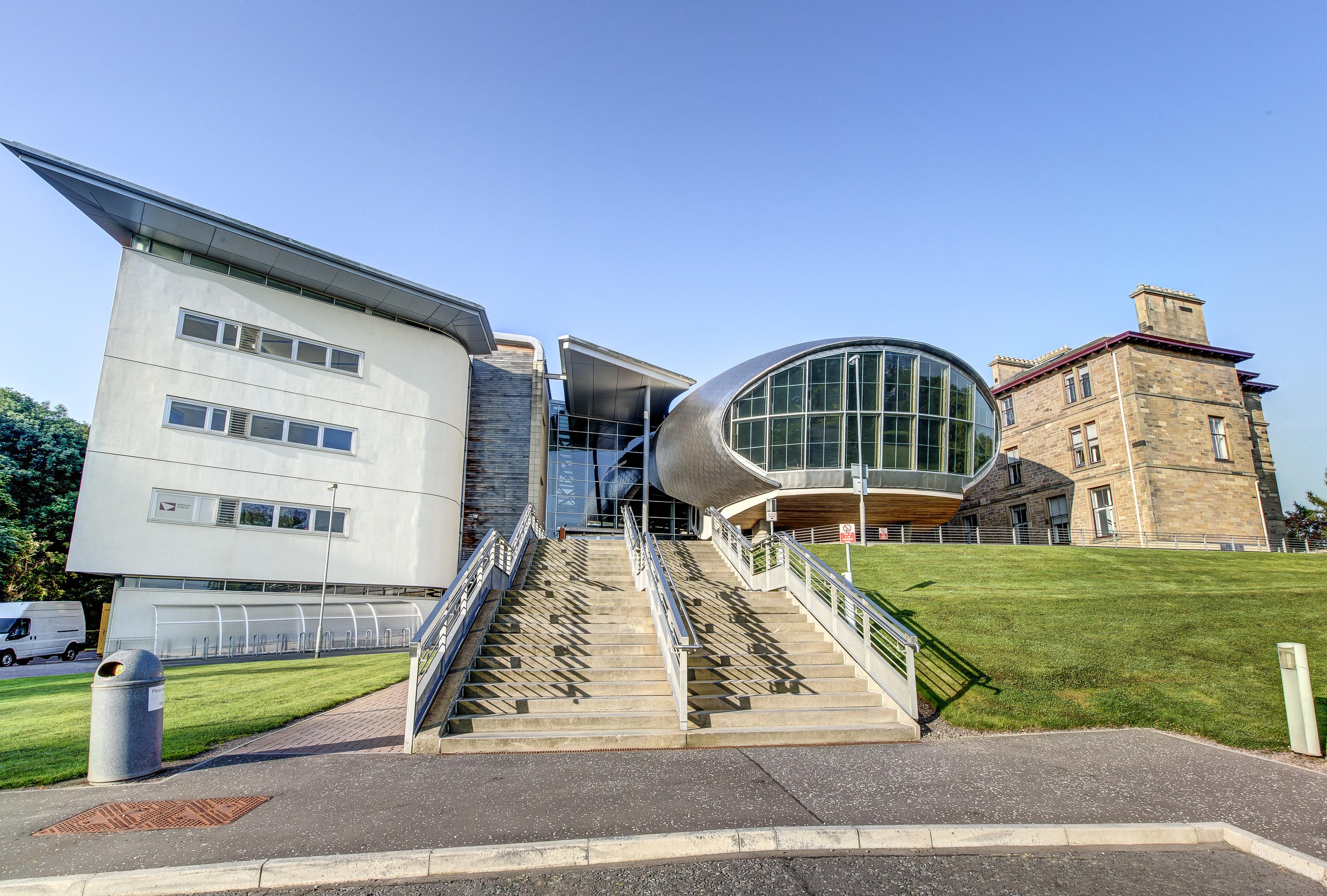 Craiglockhart facilities.  Buildings exteriors.