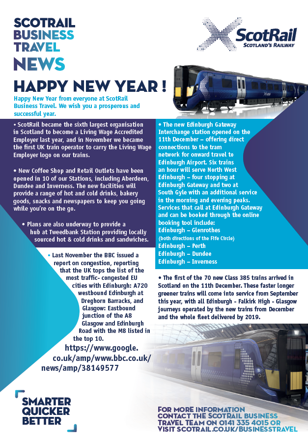 Scotrail newsletter