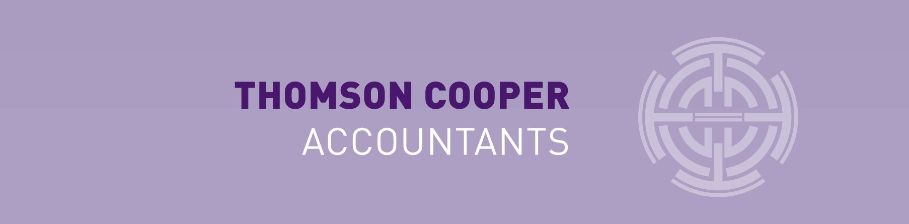 Thomson Cooper Purple logo
