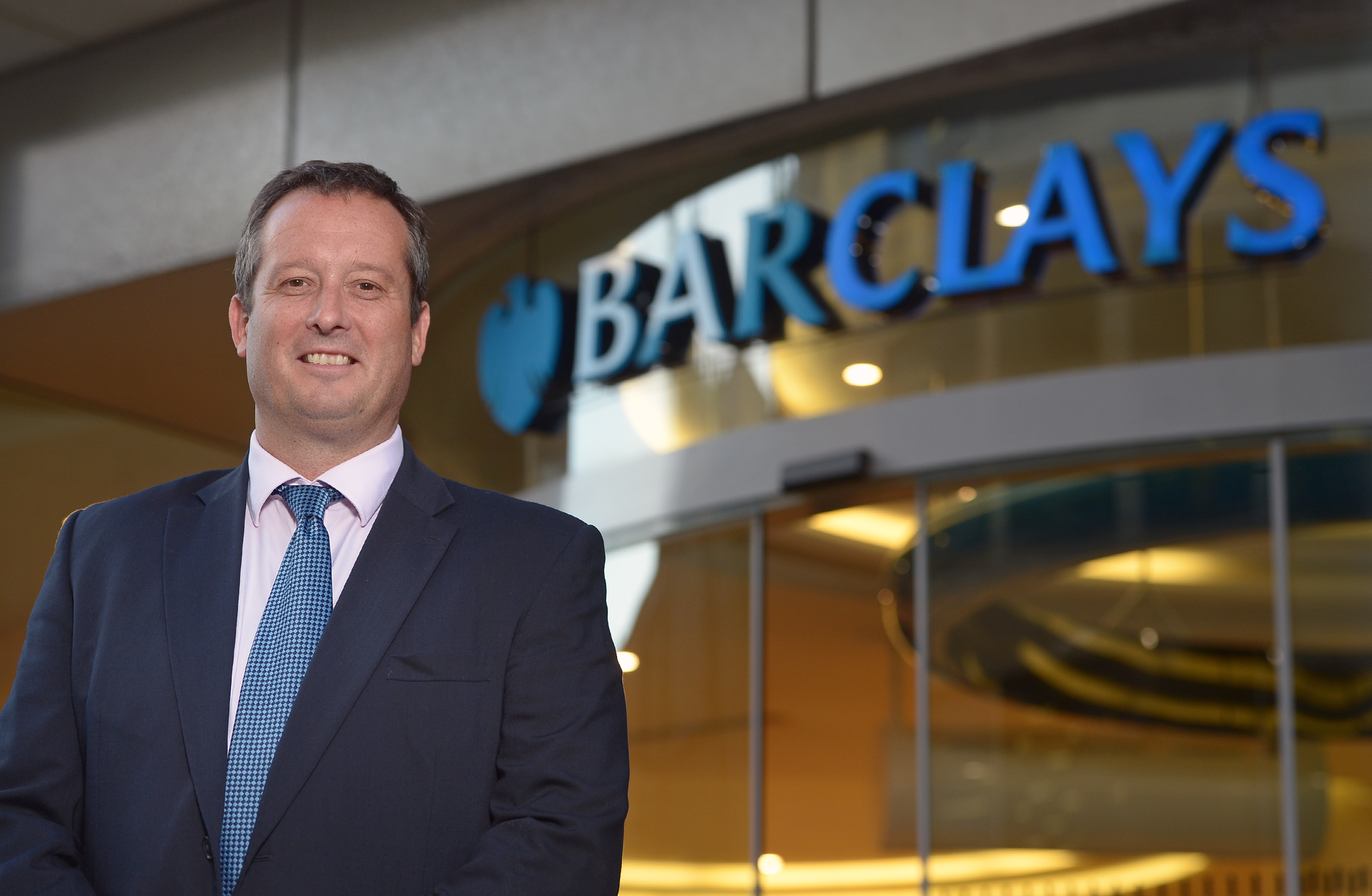 Barclays Jamie Grant - Head of Corporate Banking for Barclays Scotland & Northern Ireland. Neil Hanna Photography www.neilhannaphotography.co.uk 07702 246823