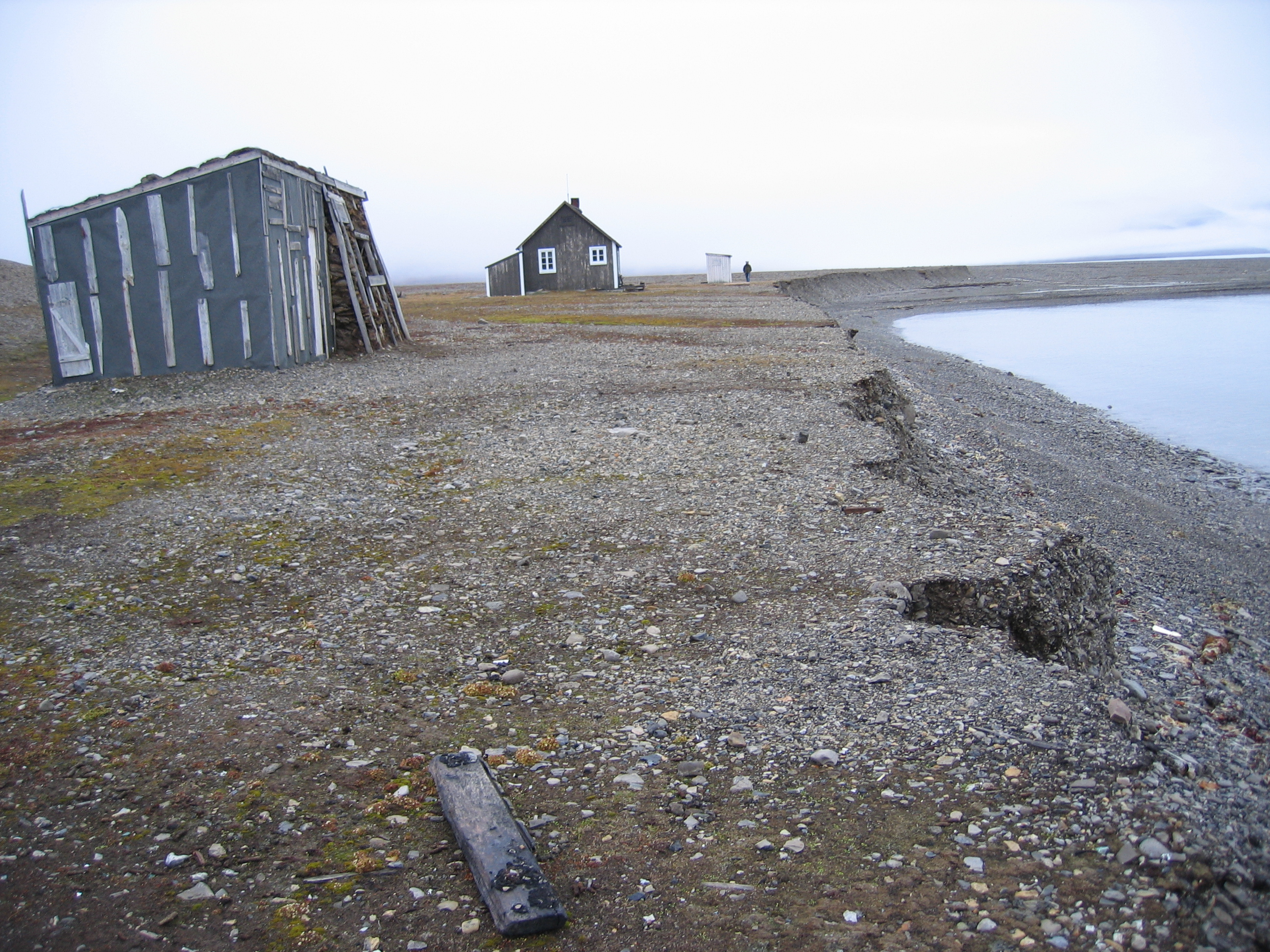 Fredheim listed hunting station in Svalbard Norway. Adapt Northern Heritage Case Study. Riksantikvaren-photographer Susan Barr