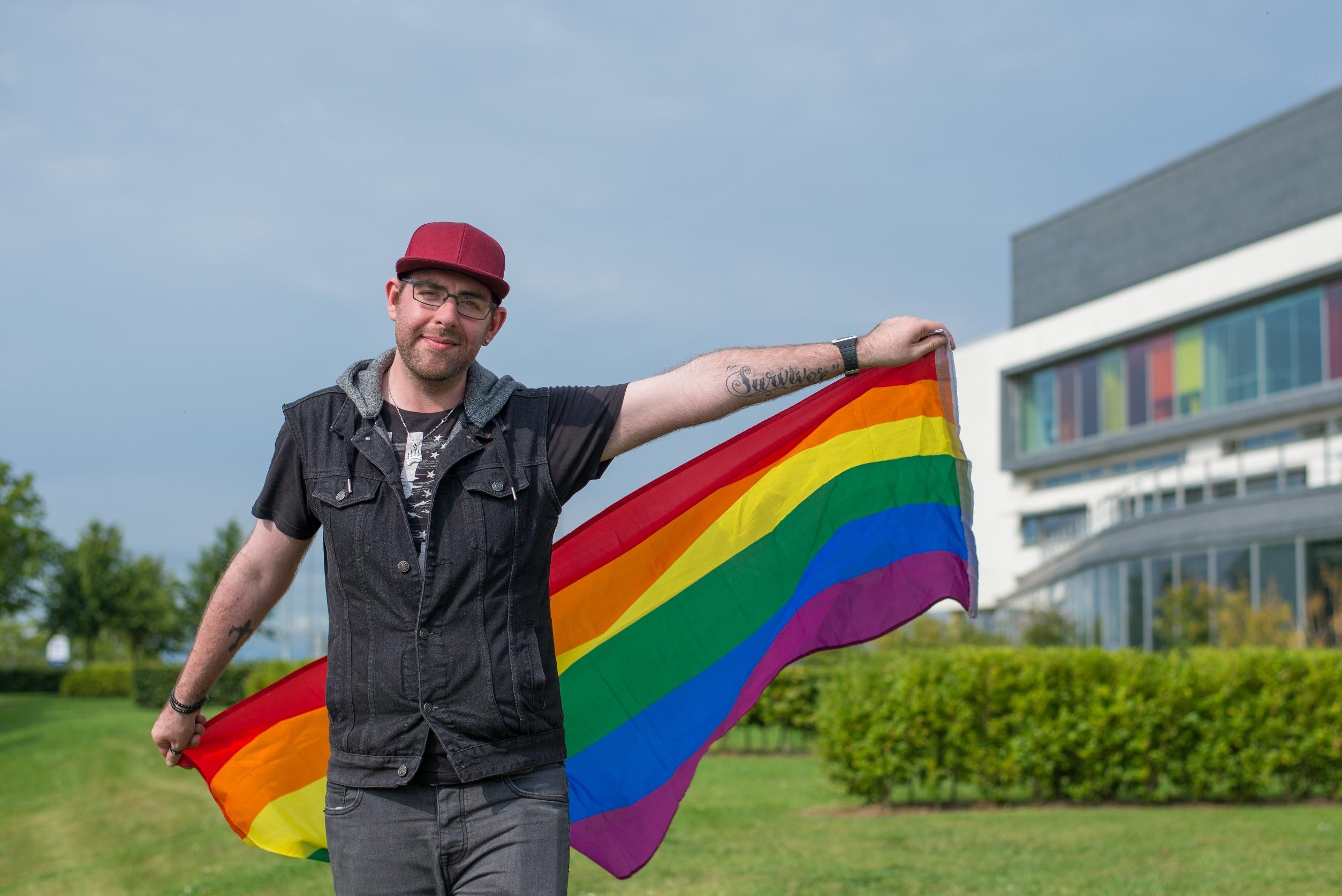 QMU student - Gavin Baxter