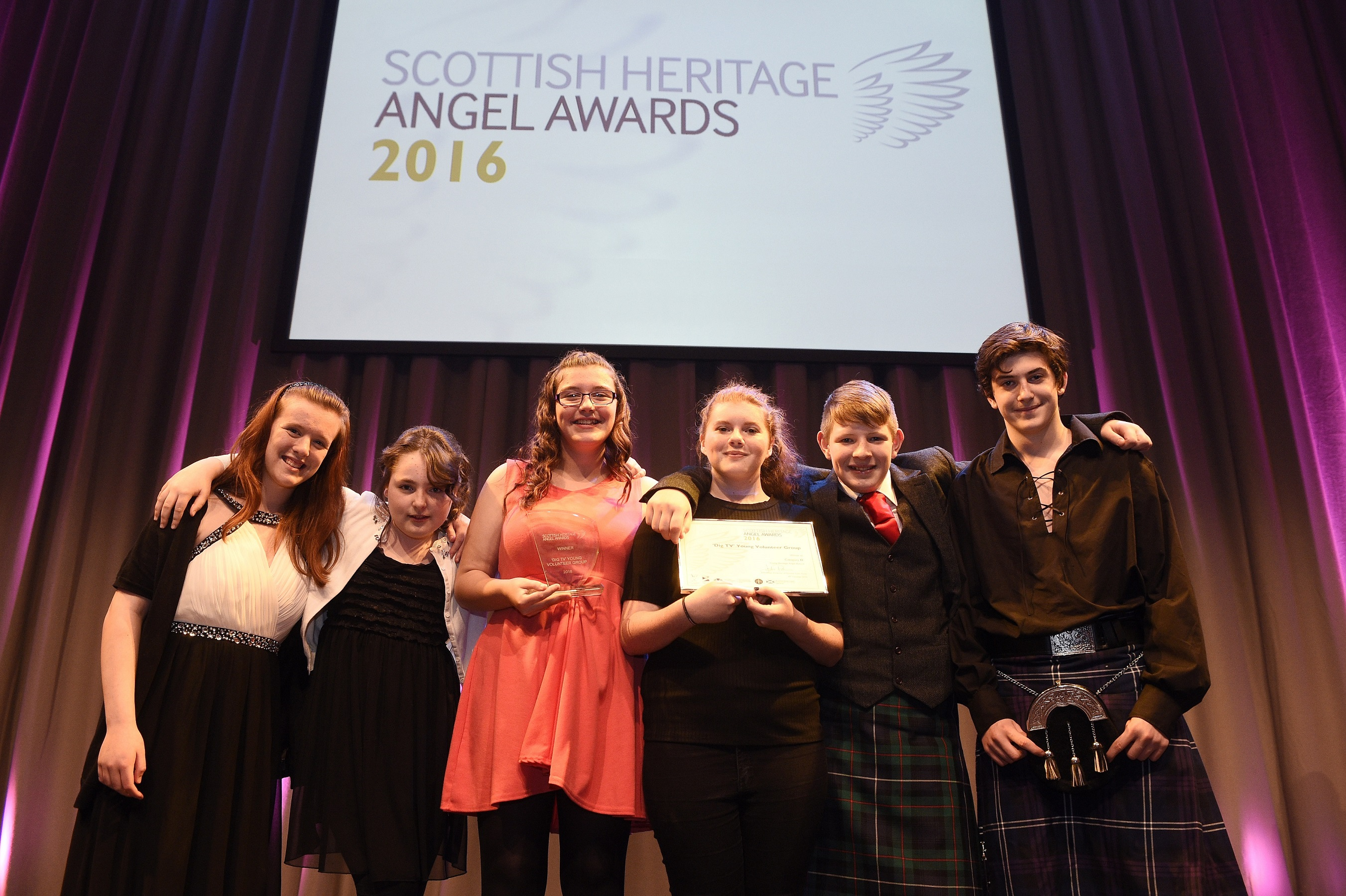 Pic Greg Macvean - 18/10/2016 - 07971 826 457 Scottish Heritage Angel Awards 2016 - Assembly Rooms, George Street