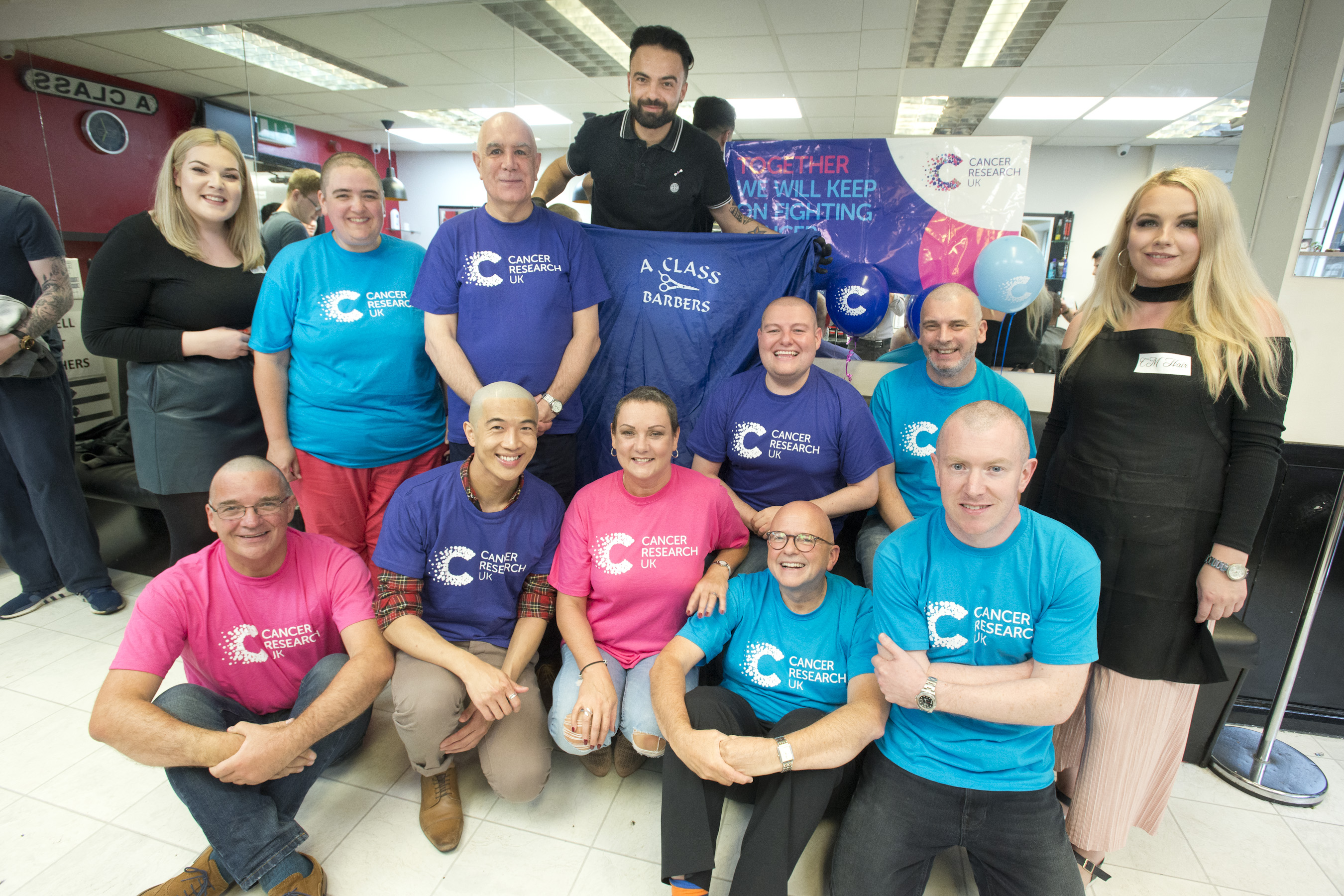 Thorntons Charity Head Shave- after