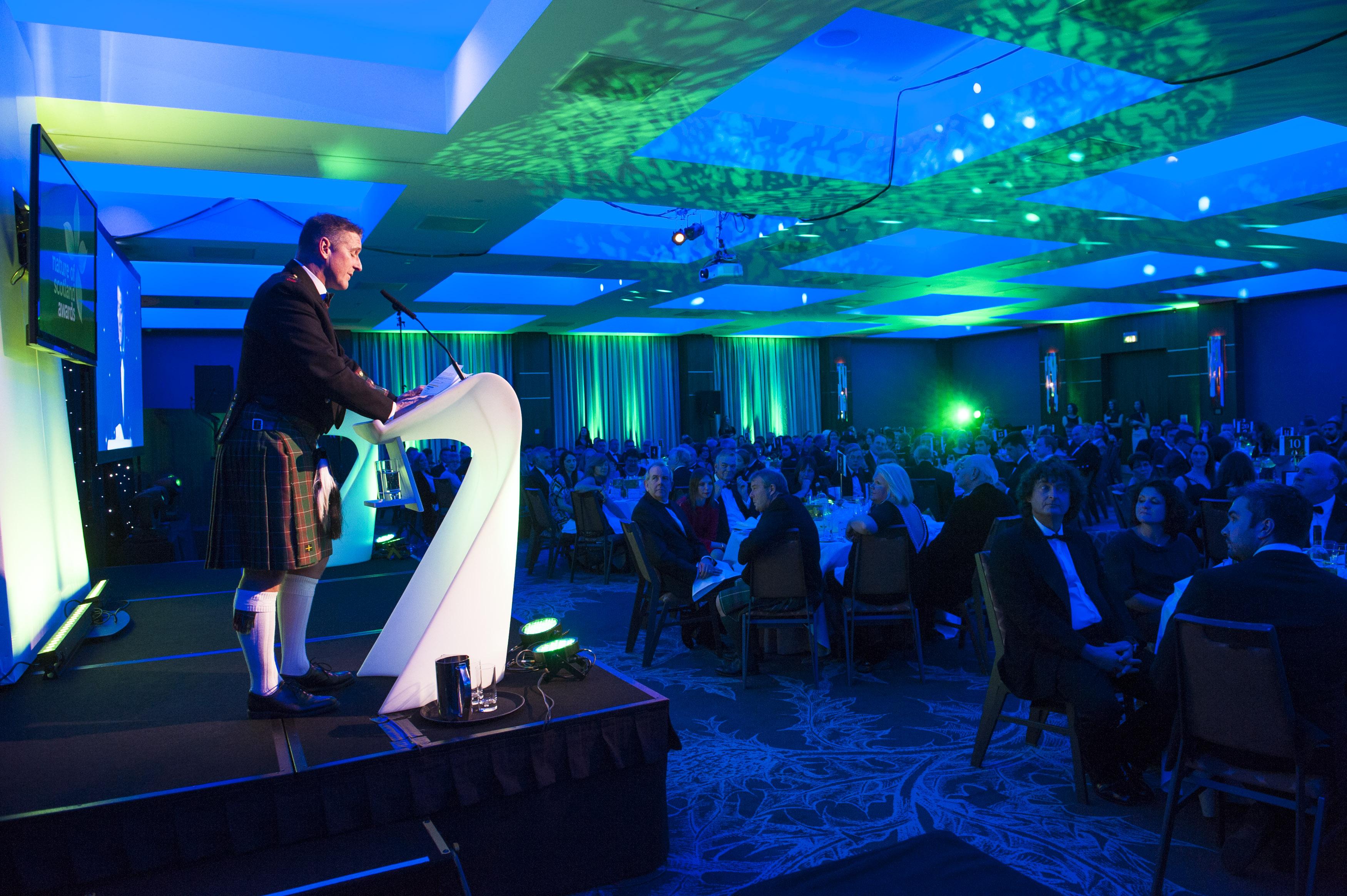 Nature of Scotland Awards Presentation Dinner