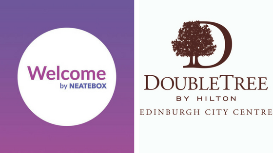 Neatebox and DoubleTree by Hilton Edinburgh City
