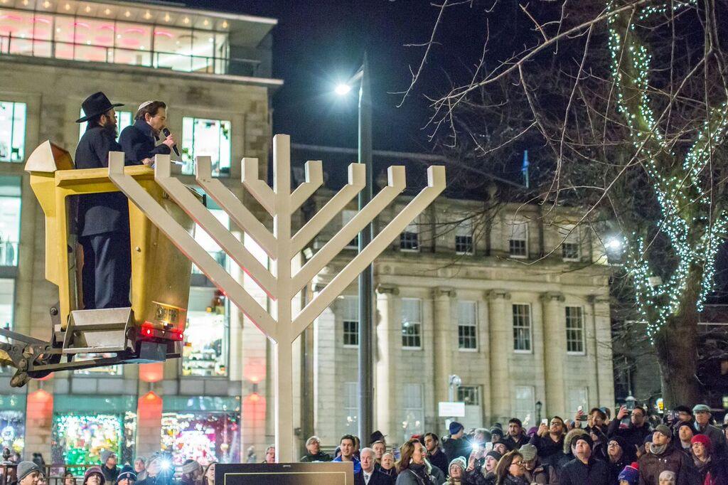Jewish Edinburgh Hanukkah