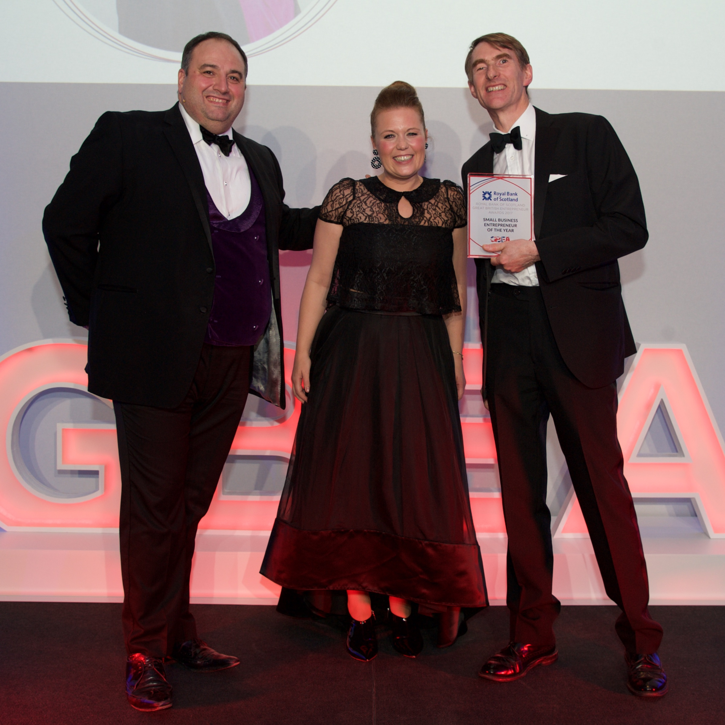 Leah Hutcheon_Small Business of the Year_RBS GB Entrepreneur Awards