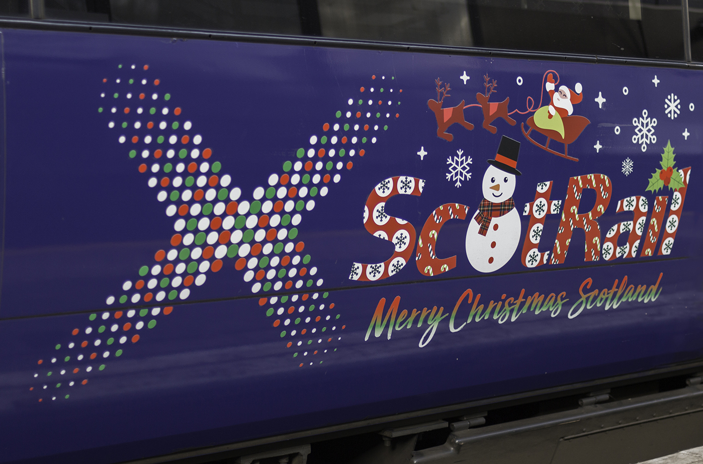 ScotRail Christmas train 1