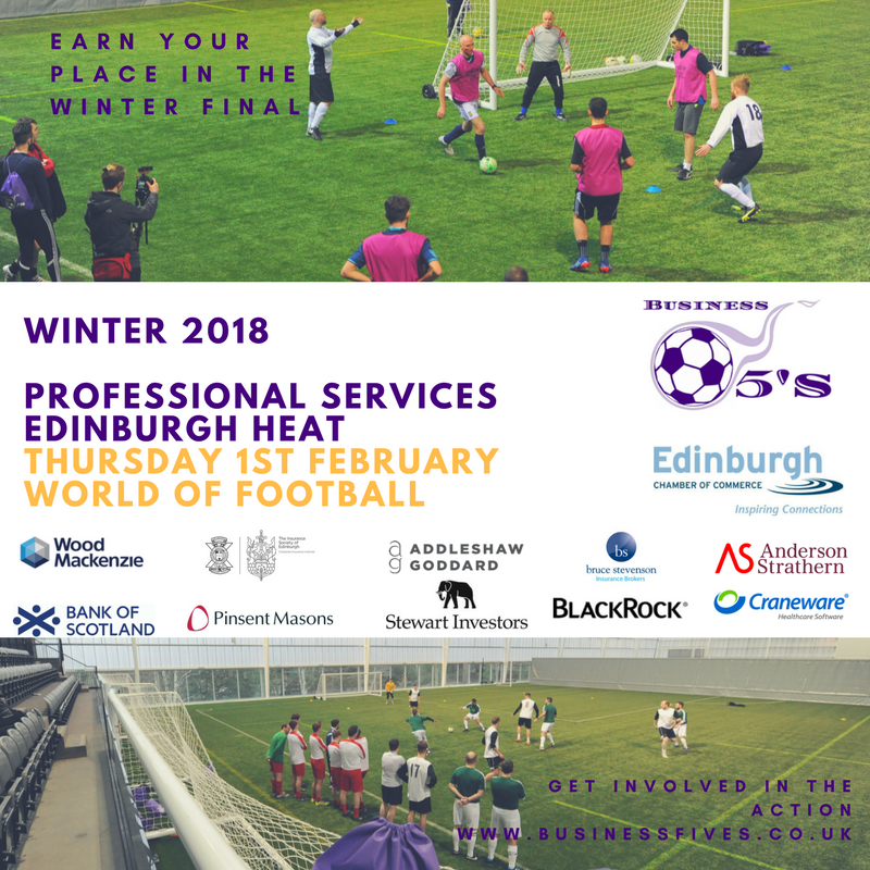 Professional Services Edinburgh Heat Winter 2018 logos