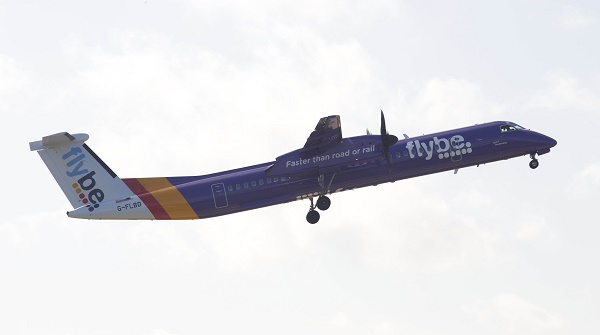 FLYBE LAUNCHES FLIGHTS FROM LONDON CITY AIRPORT TODAY.