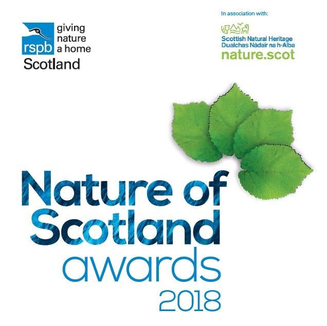 Nature of Scotland Awards logo 2018