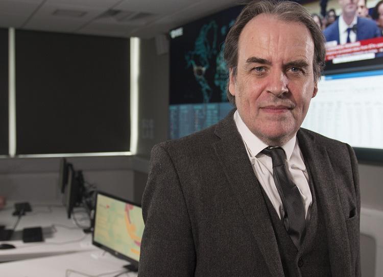 Professor Bill Buchanan of the Cyber Academy at ENU