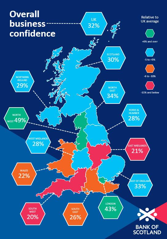 Business Barometer April Map- Scotland