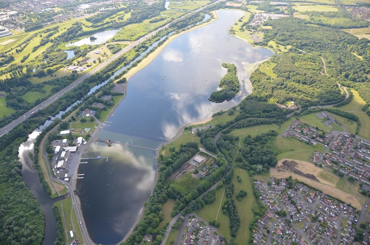 180514 Strathclyde Park Aerial