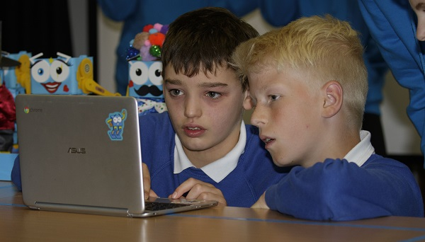 Marty's Coding Party-Forresters High School Edinburgh.