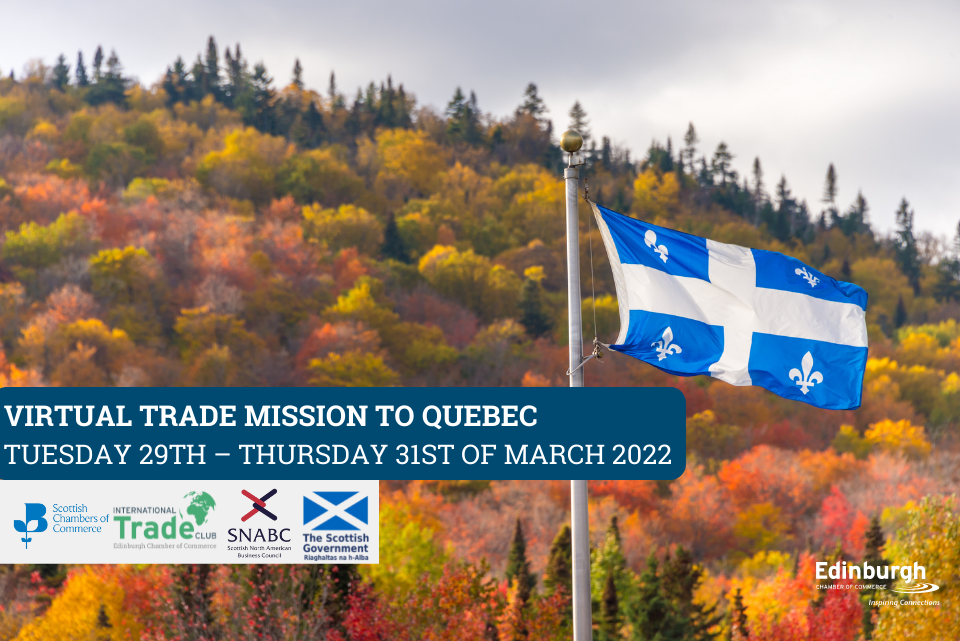 Virtual Trade Mission to Quebec